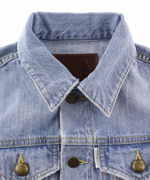 Triple Button Cuffs Denim Jacket/デニムジャケット
