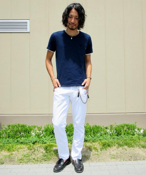 【Made in Japan】WHITE DENIM PANTS/ホワイトデニムパンツ
