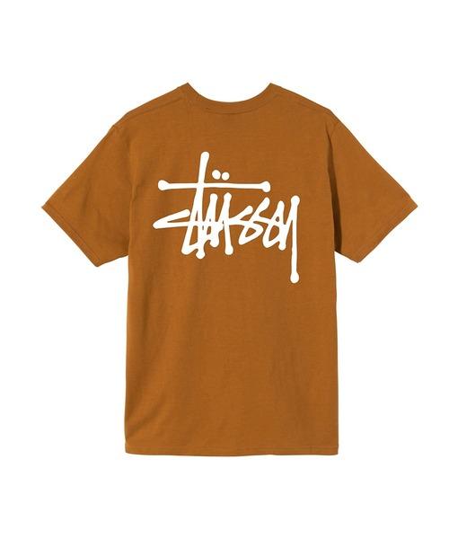 STUSSY(ステューシー)の「Basic Stussy Tee(Tシャツ/カットソー)」|キャメル