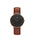 Daniel Wellington(ダニエルウェリントン)の「「Daniel Wellington/ダニエルウェリントン」 クラシックブラック 36mm レザーバンド ローズゴールド/シルバー(腕時計)」|ブラウン系その他