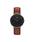Daniel Wellington(ダニエルウェリントン)の「「Daniel Wellington/ダニエルウェリントン」 クラシックブラック 36mm レザーバンド ローズゴールド/シルバー(腕時計)」|ブラウン