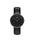 Daniel Wellington(ダニエルウェリントン)の「「Daniel Wellington/ダニエルウェリントン」 クラシックブラック 36mm レザーバンド ローズゴールド/シルバー(腕時計)」|ブラック×シルバー