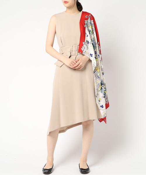 b4f497a322cb5 Loungedress(ラウンジドレス)の「 PEELSLOWLY アシメスカーフドレス ...