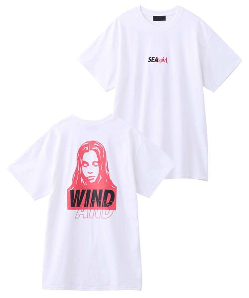 X-girl x WIND AND SEA S/S TEE FACE