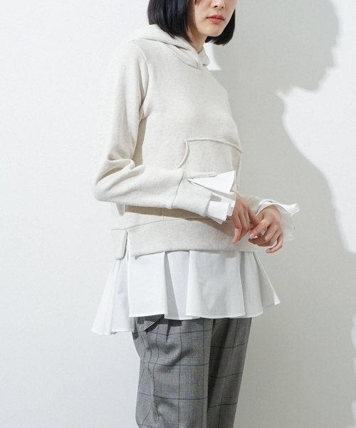 大特価!! 裾&袖口フリルパーカー(パーカー)|HERENCIA(ヘレンチア)のファッション通販, 森の中のオーディオ屋さん:1eb1a4fd --- kredo24.ru