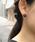 anq.(アンク)の「【anq.】OneStoneイヤリング【レモンクリソプレイズ・スモーキークォーツ・カーネリアン・アゲート・ハウライト・マザーオブパール】(イヤリング)」|詳細画像