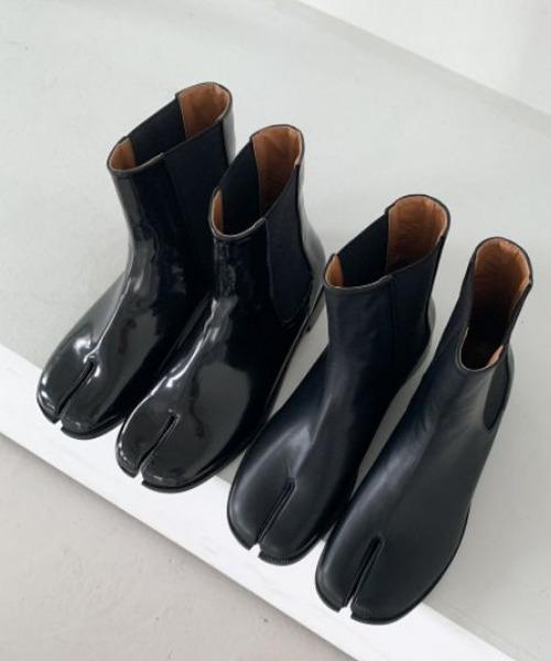 【chuclla】【2021/AW】Split toe side gore boots chs21a038
