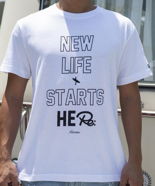 ニューライフメッセージビッグプリント Tシャツ