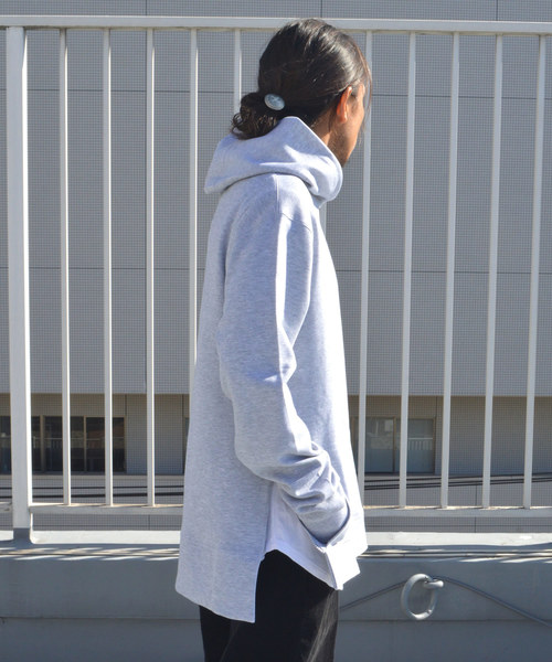 city LAB/シティラブ SIDE ZIP PULLOVER HOODIE