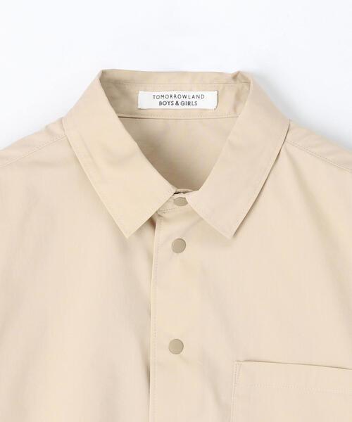 TOMORROWLAND(トゥモローランド)の「コットンタイプライターストレッチ シャツ(シャツ/ブラウス)」|詳細画像