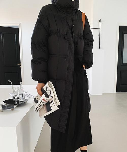 【chuclla】【2021AW】Mid-length puffer coat chw21a079