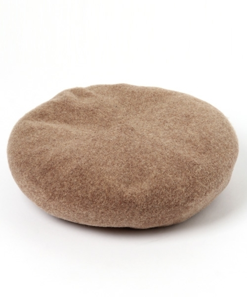 studio CLIP(スタディオクリップ)の「BIGベレー(ハンチング/ベレー帽)」 ベージュ