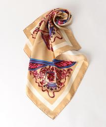 manipuri crest 65×65 / マニプリ / スカーフ / バンダナ
