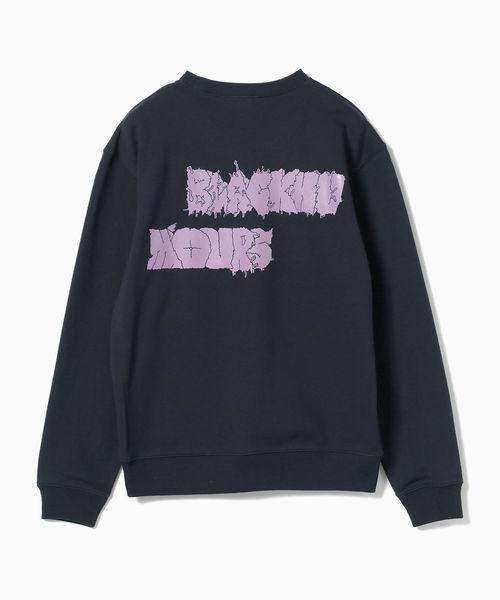 【SPECIAL PRICE】BEAMS T / BLACK HEART × CREEP LOGO Crewneck Sweatshirt