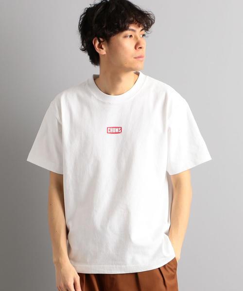 別注 [チャムス] SC CHUMS GLR センターロゴ T シャツ
