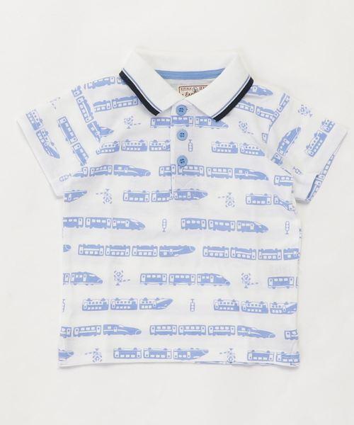 motherways(マザウェイズ)の「ボーイズ 半袖ポロシャツ 全13柄(ポロシャツ)」|ホワイト系その他