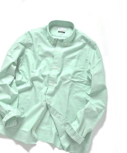 SHIPS JET BLUE: COOLMAX オックスボタンダウンシャツ