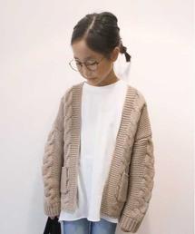 CIAOPANIC TYPY(チャオパニックティピー)の手編みライクケーブルガウン(ニット/セーター)
