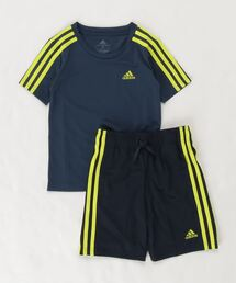 adidas(アディダス)のアディダス デザインド トゥ ムーブ 半袖Tシャツ&ショーツセットアップ [ADIDAS DESIGNED 2 MOVE TEE AND SHORTS SET] アディダス (キッズ/子供用)(Tシャツ/カットソー)