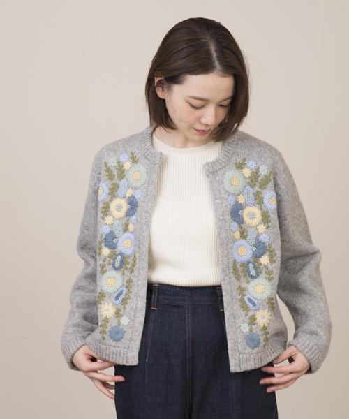 激安 ハンド刺繍ジャケット(カーディガン) nesessaire(ネセセア)のファッション通販, ジュレ:88dfbfdc --- 5613dcaibao.eu.org