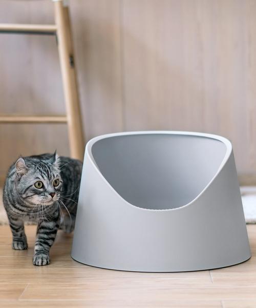 猫用トイレ オープン型