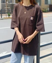 Carhartt(カーハート)の【Carhartt】カーハート オーバーサイズ ユニセックス ポケット付き 半袖 Tシャツ(Tシャツ/カットソー)