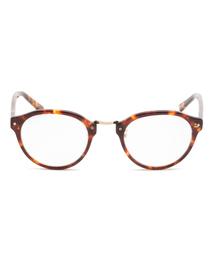 rehacer(レアセル)のMetal Bridge Star Glasses  (メガネ)