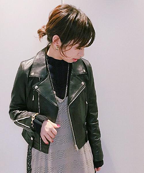 お見舞い 【Awfully】ライダースジャケット(ライダースジャケット)|Loungedress(ラウンジドレス)のファッション通販, 阿佐ヶ谷 しんかい:e748df7d --- steuergraefe.de