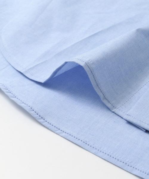 URBAN RESEARCH Tailor コットンリネンタイプライターシャツ