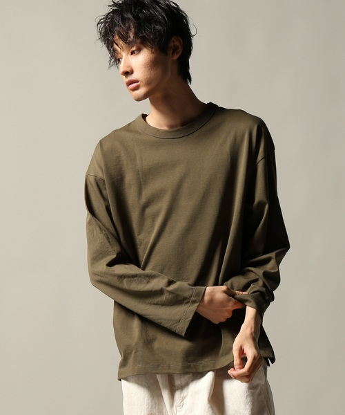 WIDE SILHOUETTE ロングスリーブ T#