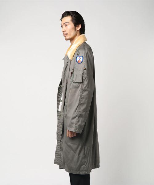 LANDLORD ALPHA N3B Trench Coat