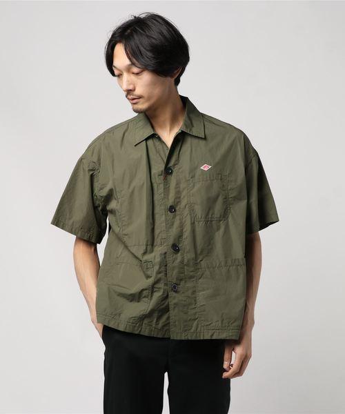 DANTON / コットン ショートスリーブシャツ <MEN>