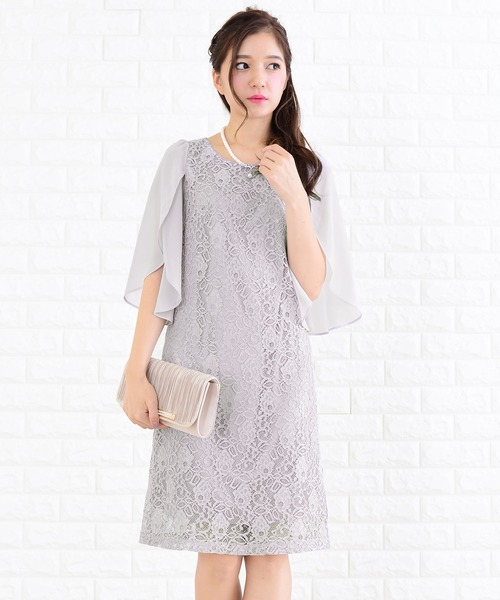 d7d6f7a2619ad Lace Ladies|レースレディースのドレス(ひざ丈)人気ランキング - ZOZOTOWN