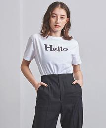<MADISON BLUE(マディソンブルー)>HELLO ロゴ Tシャツ 20FW ■■■