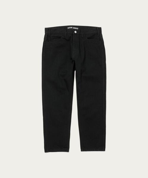 【別注】 <FUTURE SERVICE(フューチャーサービス)> BLACK PANTS/パンツ