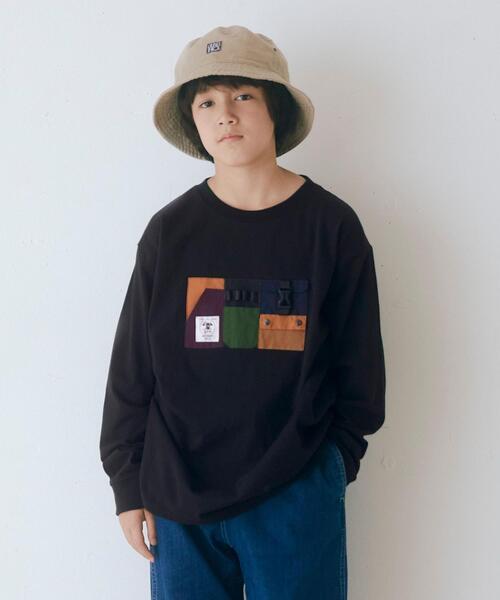 【別注】EX<grn outdoor >ポケットオーバーサイズロングスリーブ/ Tシャツ M