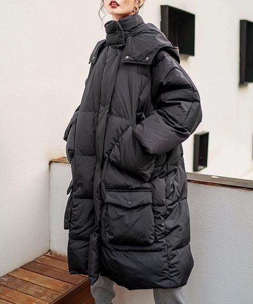 【chuclla】【2021/AW】Mid-length puffer coat chw21a084