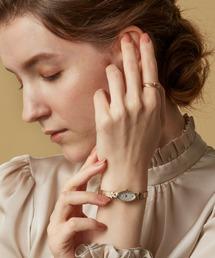 agete CLASSIC(アガット クラシック)のオーバルフェイスジュエリーウォッチ 【A.CNO.1YG時計】(腕時計)
