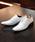 LASSU&FRISS(ラスアンドフリス)の「シルエットと履き心地を追求したストレートチップ内羽根ドレスシューズ(ドレスシューズ)」|ホワイト