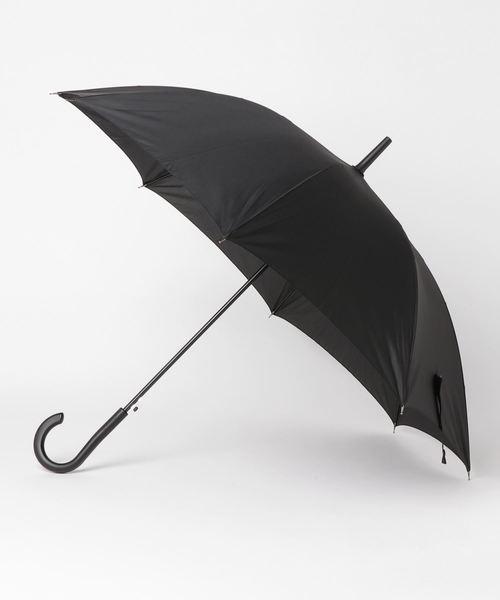 Port(ポート)の「【Amane】Long 高強度 雨傘 カサ (60cm)(長傘)」 ブラック
