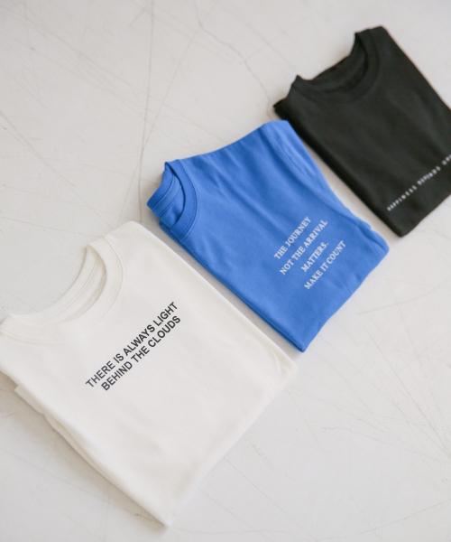 ロゴプリントTシャツ 830486
