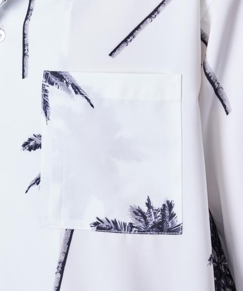 パームツリーアロハシャツ