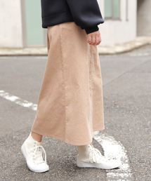 LAKOLE(ラコレ)の8WコーデュロイAラインスカート / LAKOLE(スカート)