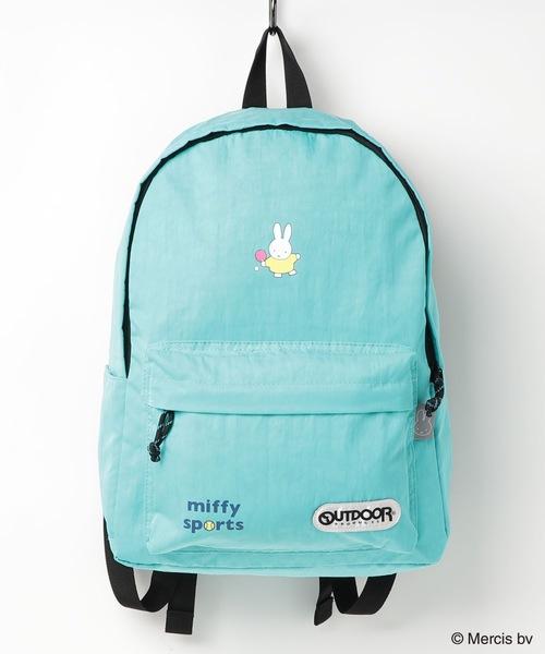 【MIFFYSPORTS/ミッフィースポーツ】OUTDOOR PRODUCTS×ミッフィースポーツコラボレーション デイパック バックパック
