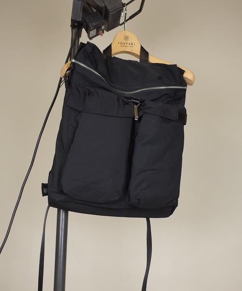 新しい到着 【CYCLUS BACK】 W W POCKET BACK PACK(バックパック POCKET/リュック)|rovtski(ロフトスキー)のファッション通販, 記念品と表彰用品の123トロフィー:2dcfa8d6 --- pitomnik-zr.ru