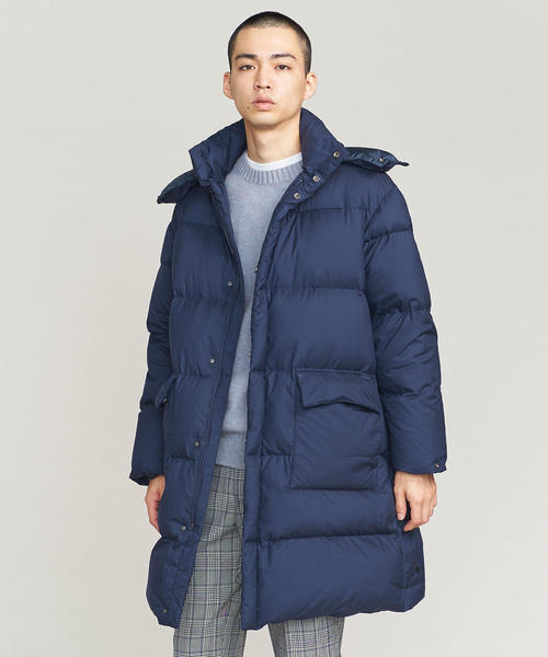 <DESCENTE PAUSE> HOODED DOWN COAT/ダウンコート ◆