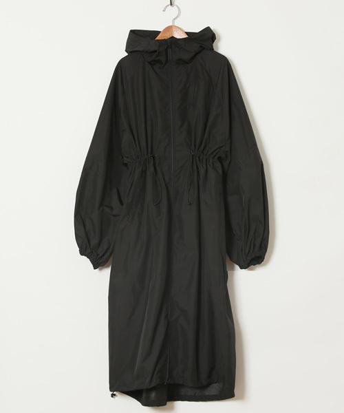 HOLIDAY(ホリデイ)の「PACKABEL WIND COAT パッカブルウィンドコート(ナイロンジャケット)」 ブラック