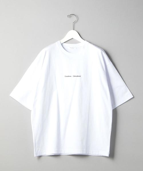 BY FREEDOM STANDARD ワイドフォルム Tシャツ