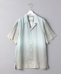 <OVERCOAT(オーバーコート)>オープンカラー シャツ