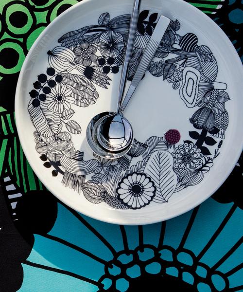marimekko(マリメッコ)の「Siirtolapuutarha / PLATTER(食器)」|ホワイト